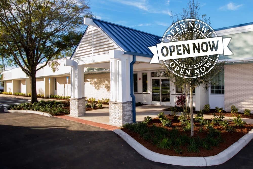 Now Open! Orlando's only free-standing medical detox center.